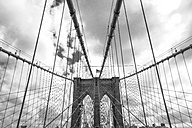 USA, New York City, part of Brooklyn Bridge - ZEF11104