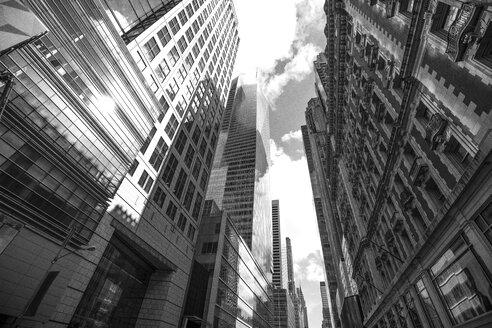USA, New York City, street canyon - ZEF11122