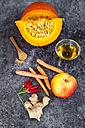 Ingredients of pumpkin smoothie - SARF03032