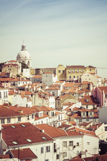 Portugal, Lisbon, cityscape of Alfama district - CMF00598