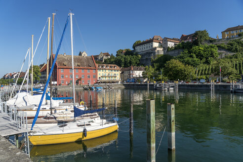 Germany, Meersburg, harbour and townscape - PCF00298
