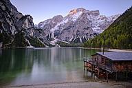 Italy, South Tyrol, Pragser Wildsee - HAMF00236
