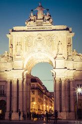 Portugal, Lisbon, Arco da Rua Augusta - CMF00613