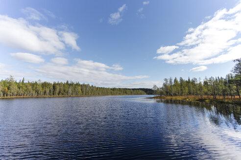 Finland, North Karelia, Kuhmo, Lake in the Taiga - ZCF00440
