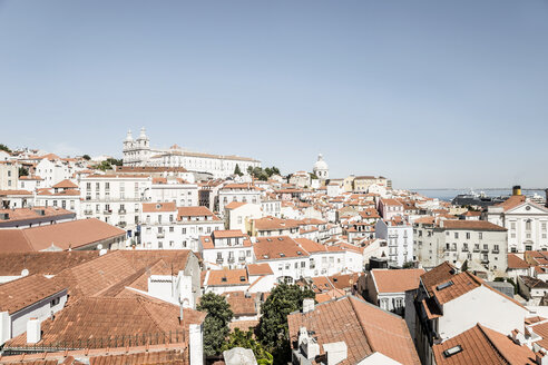 Portugal, Lisbon, view to Alfama District - CHPF00304