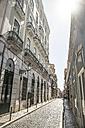 Portugal, Lisbon, street at Bairro Alto - CHPF00307