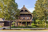 Germany, Potsdam, typical frame house at Alexandrowka - WDF03785