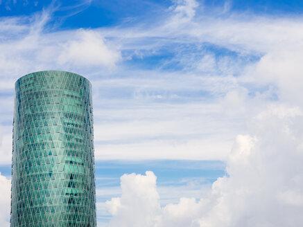 Germany, Frankfurt, Westhafen Tower - KRP02025