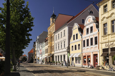 Germany, Brandenburg, Cottbus, Historical buildings at the Altmarkt - BT00446