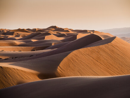 Oman, Al Raka,Dunes in  Rimal Al Wahiba desert - AMF05081