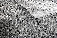 Cobblestone pavement and tarmac - FMKF03256
