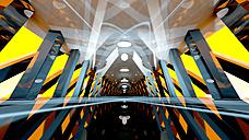 Futuristic architecture, 3D Rendering - SPCF00143