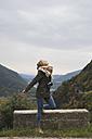 Young woman enjoying the nature - KKAF00076