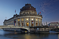 Germany, Berlin, Bode Museum at twilight - GF00903