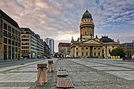 Germany, Berlin, view to German Cathedral at Gendarmenmarkt - GF00912