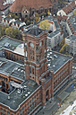 Germany, Berlin, Red Town Hall seen from above - GFF00915