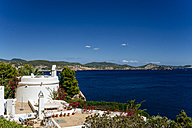 Spian, Ibiza, Typical whitewashed house at the sea - KIJF01018