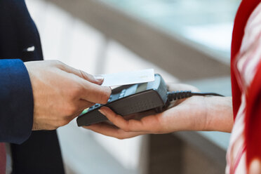Contactless payment with credit card - ZEDF00443