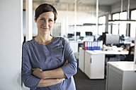 Portrait of confident businesswoman in office - RBF05227