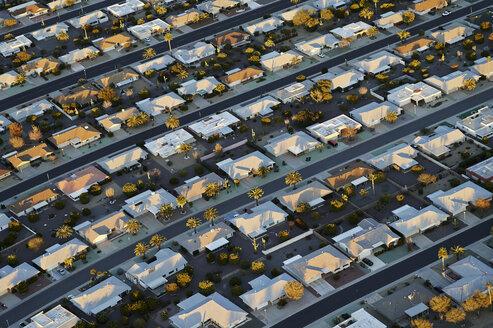 USA, Arizona, aerial view of Sun City retirement community - BCDF00253