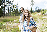 Young couple on a hiking tour - HAPF01184