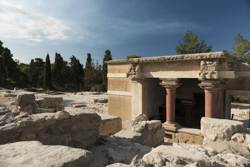 Greece, Crete, archeological site of Knossos - KA00187