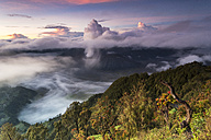 Indonesia, East Java, Bromo Tengger Semeru National Park, Mount Bromo, Mount Semeru, Gunung Penanjakan viewpoint - FPF00117