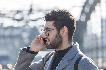 Businessman on the phone - TCF05244