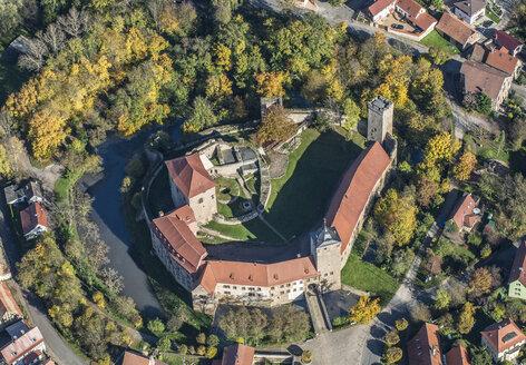 Germany, Kapellendorf, aerial view of Kapellendorf Castle - HWO00169