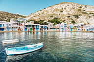 Greece, Milos, Colorful fishermen's village Klima - GEMF01342