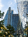 UK, London, City of London, view to Leadenhall Building and 30 St Mary Axe at the right - AM05155