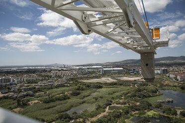 Construction crane and landscape - ZEF11972