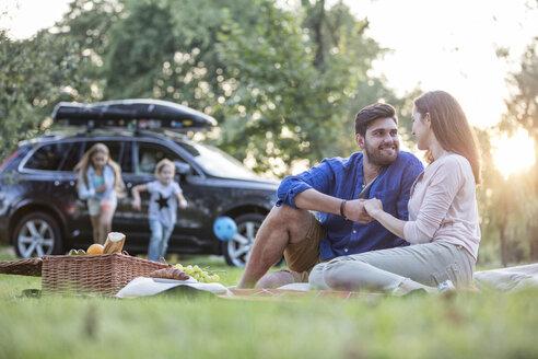Happy having a picnic at road trip - WESTF22397