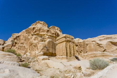 Jordan, Petra, Djinn Block - MABF00429