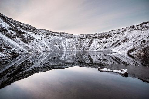 Iceland, Kerid, Volcanic crater lake - EPF00217
