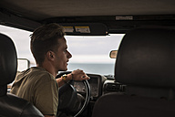 Young man driving car - SIPF01246