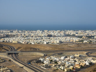 Oman, View over the city of Muscat - AMF05192