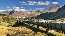 Austria, Montafon valley, Silvretta pipeline and Bielerhohe - STSF01178