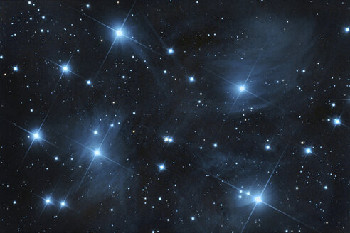 M45 pleiades open star  cluster - DHCF00006