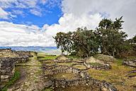 Peru, Amazonas Region, Chachapoyas, ruins of fortress Kuelap - FOF08500