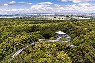 Germany, Thuringia, Bad Langensalza, Hainich National Park, canopy walkway - EGB00159