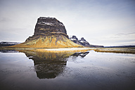 Iceland, view to Lomagnupur - EPF00257