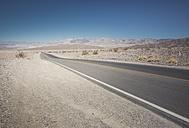 USA, California, Death Valley, deserted highway - EPF00264