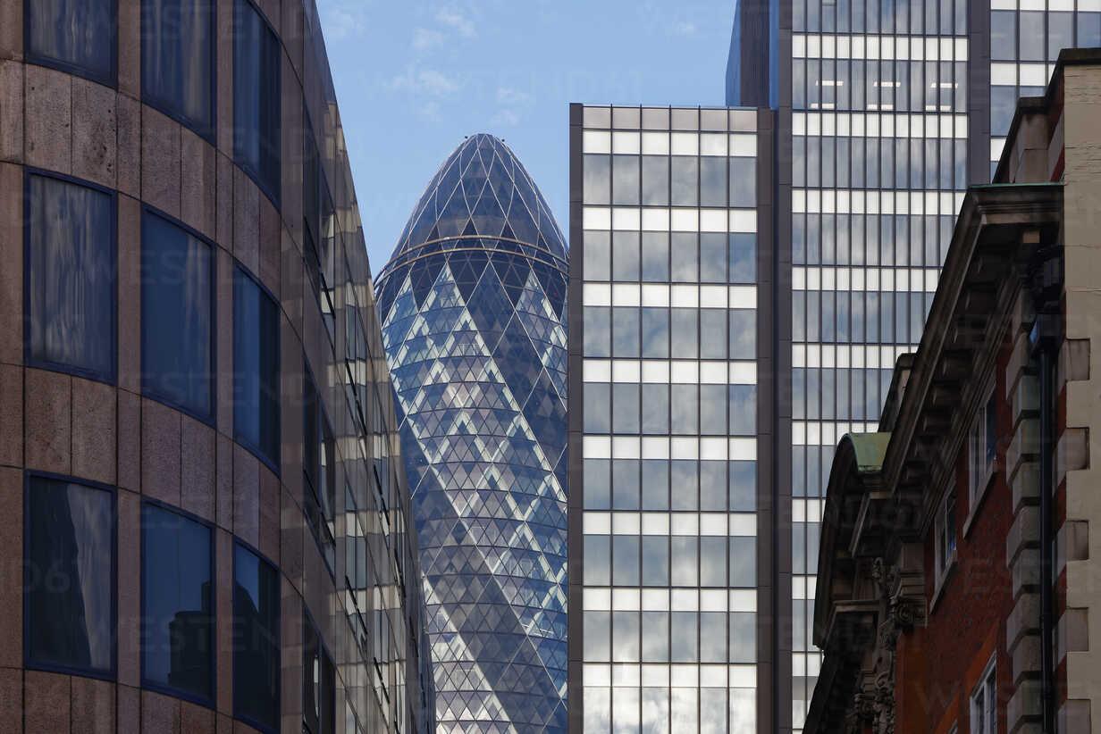 UK, London, The Gherkin - GFF00947 - Günter Flegar/Westend61