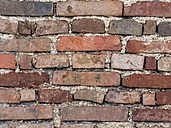 Brick wall, close-up - EJWF00823