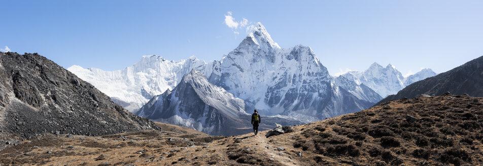 Nepal, Himalaya, Khumbu, Everest region, Kongma La, Ama Dablam - ALRF00810
