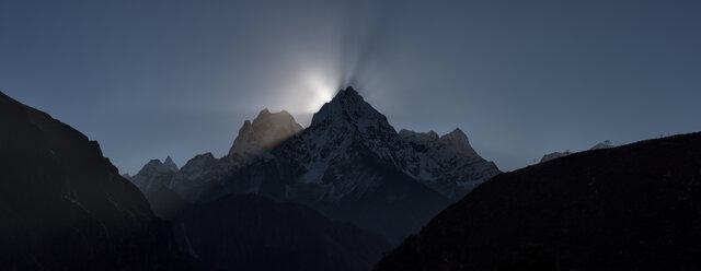 Nepal, Himalaya, Khumbu, Everest region, Renjo La - ALRF00837