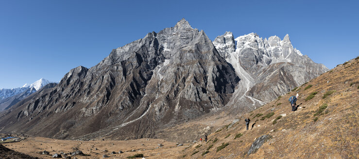 Nepal, Himalaya, Khumbu, Everest region, Khunde - ALRF00840
