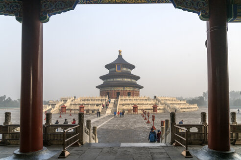 China, Beijing, Temple of Heaven, Hall of Prayer for Good Harvest - PC00314