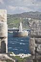 Spain, Andalusia, Tarifa, view to port entrance - KBF00354